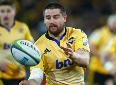 Dane Coles playing for Hurricanes.