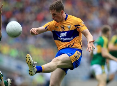Eoin Cleary in action for Clare during the 2016 All-Ireland championship.