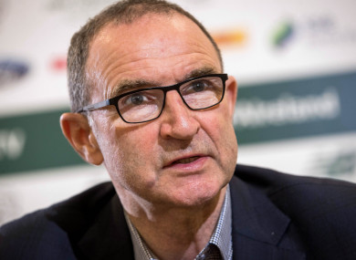O'Neill was speaking in Kilkenny yesterday.