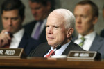 John McCain returns to Washington after blood clot surgery to vote on Obamacare