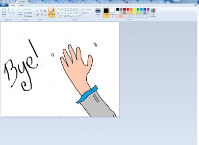 We'll miss you, MS Paint