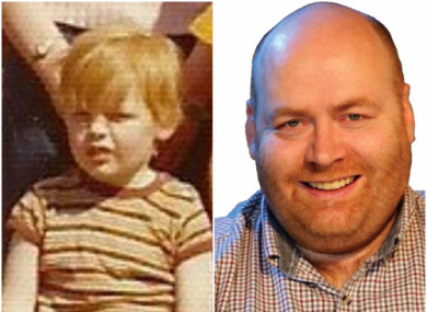 Then and now - Francis Timmons as a young boy in Madonna House, and now as an independent councillor for Clondalkin