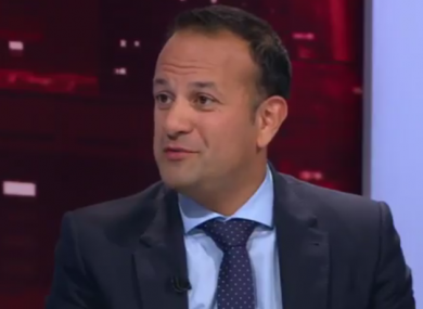The Taoiseach said a large majority of Irish people consider themselves middle class.