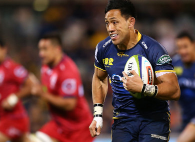 Brumbies co-captain Christian Lealiifano