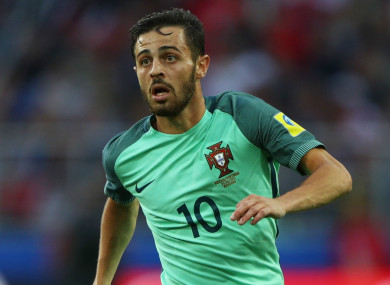 Portugal midfielder Bernardo Silva