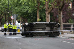 Six people hospitalised after cars hit pedestrians in Dublin
