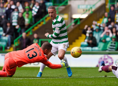 Griffiths got Celtic up and running in style earlier.