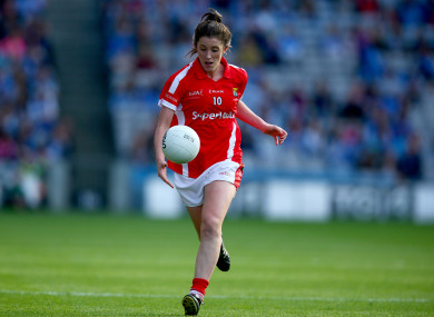Ciara O'Sullivan in action for Cork during the 2015 All-Ireland final.
