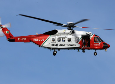 File photo. Rescue 118 was on the scene within 15 minutes of the 999 call.