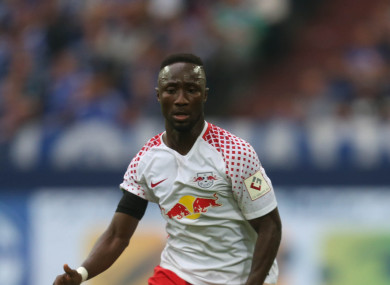 Keita helped RB Leipzig to a second place finish last season.
