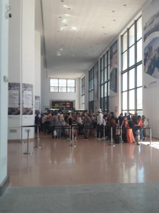 Malaga Airport queues