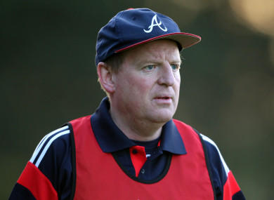 John Cleary won two All-Ireland U21 titles as manager with Cork.