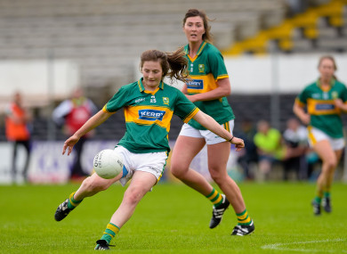 O'Donoghue scored 1-4 on her senior championship debut.