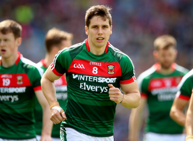 Mayo's Lee Keegan returns to the starting side on Sunday.