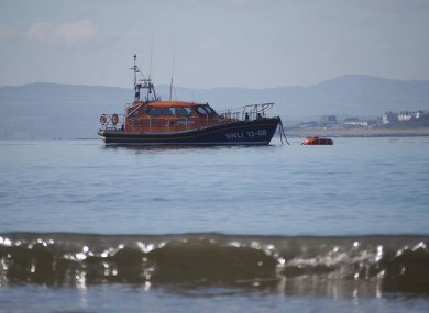 Lough Swilly RNLI were involved in the search.