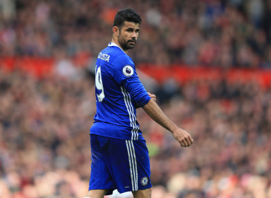 Costa has no wish to play for Chelsea again.
