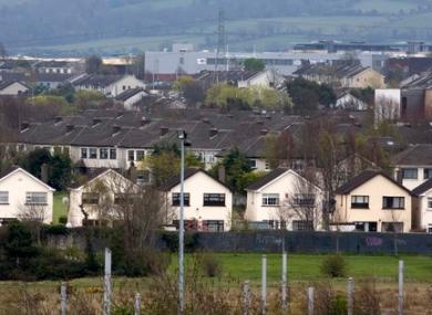 Houses in west Dublin.