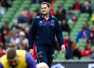 Rassie Erasmus is happy to leave Munster early if asked.