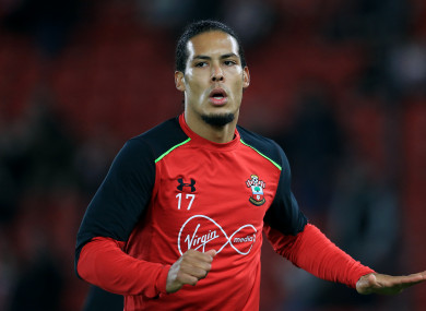 Southampton defender Virgil van Dijk wants out of St Mary's.