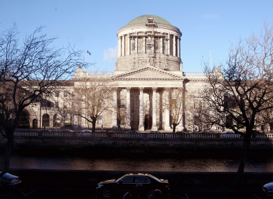 The Four Courts  building in Dublin.