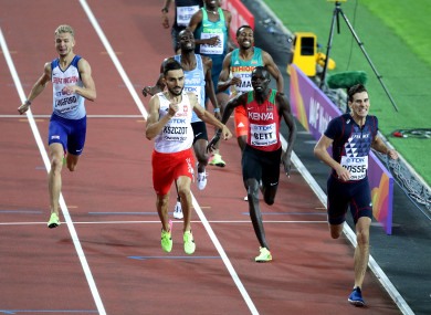 Moment of glory: Bosse takes world championship gold in London last month.