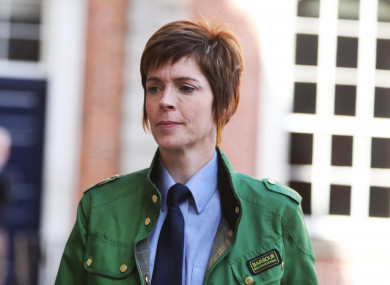 Inspector Goretti Sheridan.