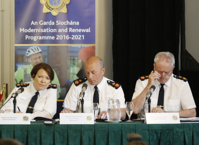 There have been calls in recent days for Commissioner Nóirín O'Sullivan to step down from her position.