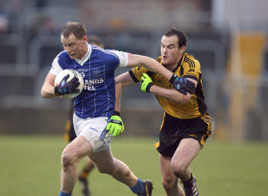 Anthony Thompson in action for Naomh Conaill in the 2012 club championship.