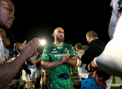 John Muldoon led Connacht to their first win of the season last night.