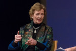 Mary Robinson at the UN: Trump's threat to 'obliterate North Korean people' provoked 'gasps'