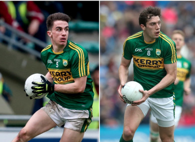 Brian Ó Beaglaoich and David Moran were both part of winning sides today.