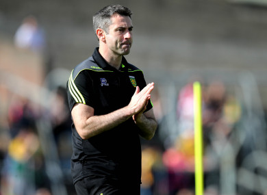 Gallagher stepped down from Donegal in July.
