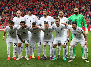 Georgia are yet to win a game in Group D so far this qualifying campaign.
