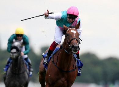 Dettori and Enable (file photo).