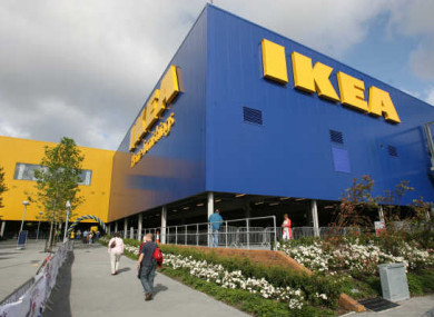 The Ikea store in Ballymun, Dublin.
