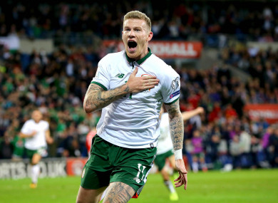 McClean: Cardiff winner sees Ireland rise eight places.