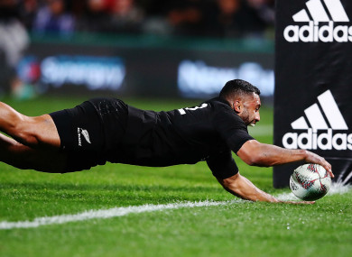 New Zealand fly-half Lima Sopoaga