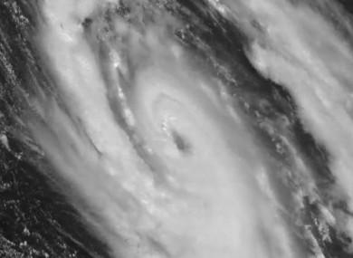 Hurricane Ophelia.