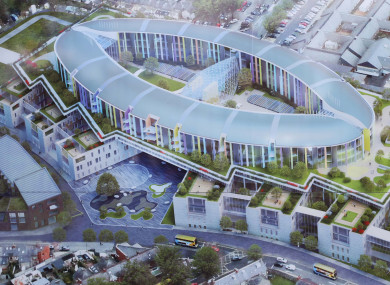 This is what the new hospital is set to look like.