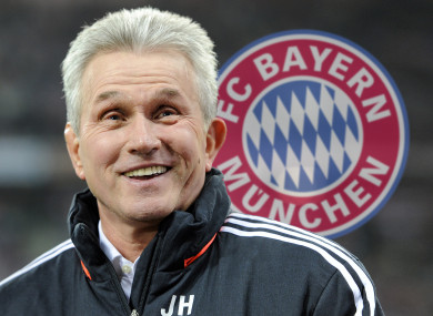 Heynckes led Bayern to the treble in 2013.