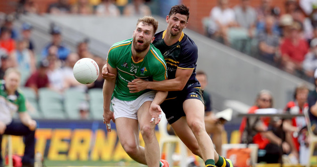 As it happened: Ireland v Australia, International Rules Series First Test
