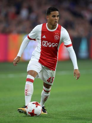 Justin Kluivert at Ajax.