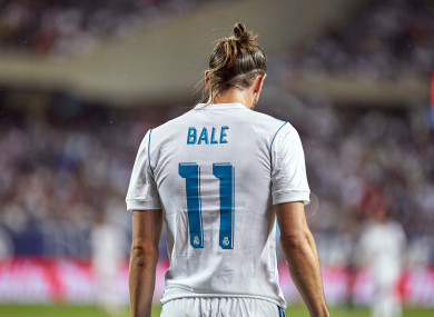Gareth Bale has struggled with injuries of late.