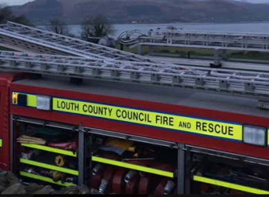 Two people were also injured in the fire.