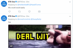 RT� investigating how 'deal with it' tweet was sent in response to Al Porter controversy
