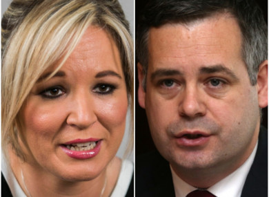 Michelle O'Neill and Pearse Doherty have ruled themselves out of contention.