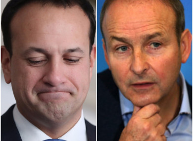 Varadkar could be facing an election six month after becoming Taoiseach.