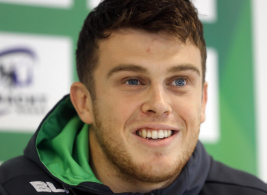 Tom Farrell pictured at the Connacht Rugby Press Conference.