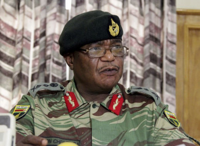 Zimbabwe's Army Commander Constantino Chiwenga