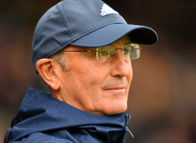 Pulis was sacked by West Brom a month ago.